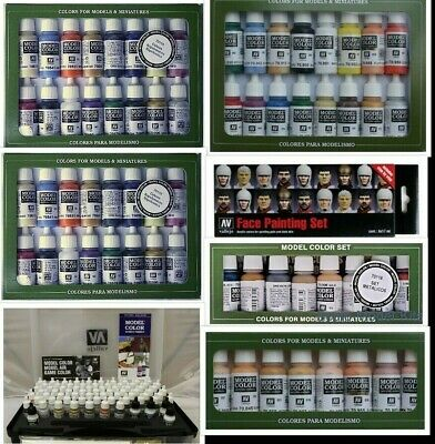 Vallejo Model Color Choose From Range Of Different 17ml Hobby Figure Paint Sets  • 18.75£