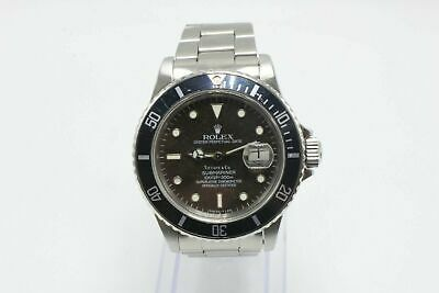 $ CDN52950.28 • Buy Vintage Rolex Submariner 16800 Tiffany & Co Dial Stainless Steel Watch VERY RARE