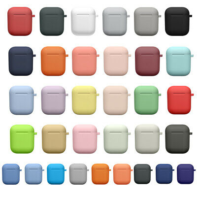 $ CDN7.77 • Buy Protective Case Cover Skin Frame With Keychain For Apple Airpods Charging
