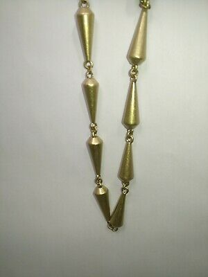 $ CDN19 • Buy Brass Lia Sophia Signed Chunky Necklace