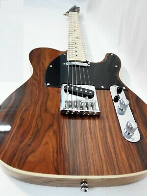 AU172 • Buy Haze Solid Body Electric Guitar,SS Pickups,Brown CocoBolo Top+Free Bag 01M 830C