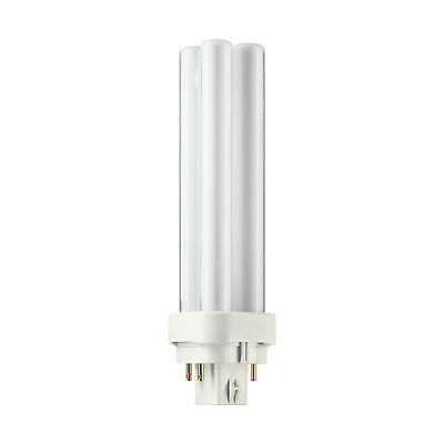 GE 13 Watt 4 Pin Colour 840 G24q-1 Cool White PLC Light Bulb • 5.99£