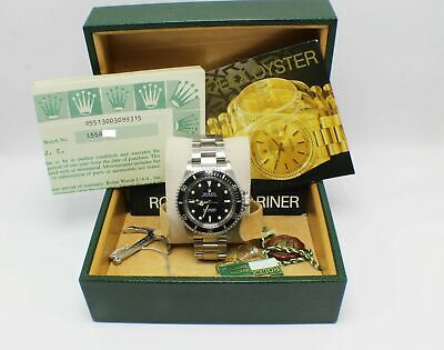 $ CDN20358.70 • Buy Vintage Rolex Submariner 5513 Stainless Steel Box & Papers 1989