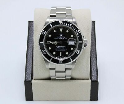 $ CDN10683.72 • Buy Rolex Submariner 16610 Date Black Dial Stainless Steel
