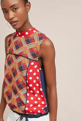 $ CDN71.87 • Buy New Anthropologie Evelyn Mock Neck Top By Tiny Red Size XS