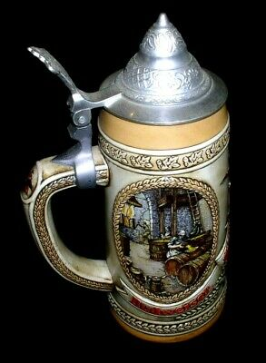 $ CDN16.27 • Buy BUDWEISER A Series Lidded Beer Stein ANHEUSER BUSCH Ceramarte 17th C BREWING