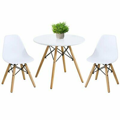 $139.93 • Buy Kids Modern Dining Table Set With 2 Armless Chairs