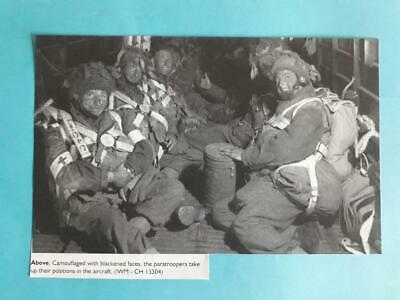 WW2 - British Paratroops Ready For D-Day Jump On Night Of 5-6th June 1944 • 2£