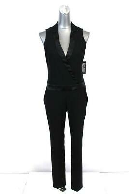 $29.74 • Buy NEW Womens Black NEW YORK & COMPANY Tuxedo Style Cocktail Jumpsuit Modern XS 2