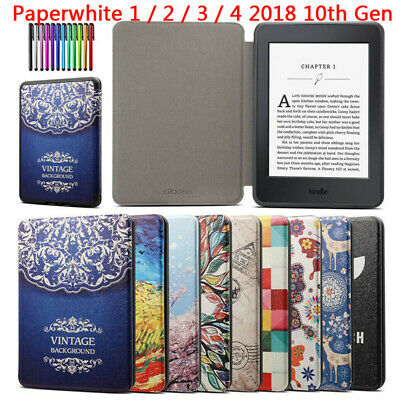 AU9.78 • Buy For Amazon Kindle Paperwhite 1 2 3 4 2018 10th Auto Sleep Wake Smart Case Cover