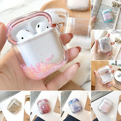 AU22.85 • Buy For AirPods 1 2 Case Hard Clear Cover Charging Earphones Protective Silicone AU
