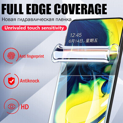 $ CDN1.25 • Buy For Samsung Galaxy S21+ Note 20+ S10 Soft Full Cover Front Back Screen Protector