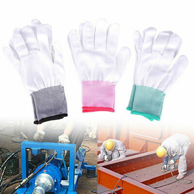 $3.23 • Buy Qu_ 2 Pairs Anti Static Gloves PC Computer Repair ESD Electronic Labor Worker To