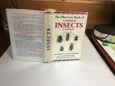 £19.99 • Buy Observers Book Of Common Insect & Spiders 1956: