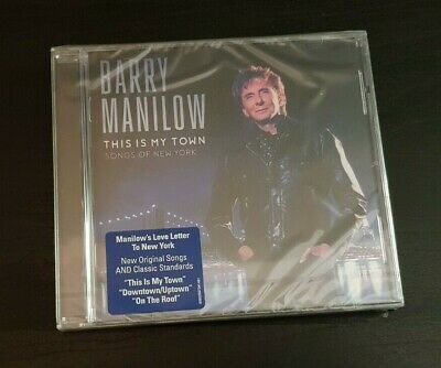 Cd Album - Barry Manilow - This Is My Town - Songs Of New York - New And Sealed • 2.65£