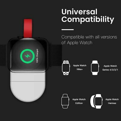 $ CDN6.27 • Buy Magnetic Charger Portable Wireless Adapter Apple Watch IWatch Series 1/2/3/4 T