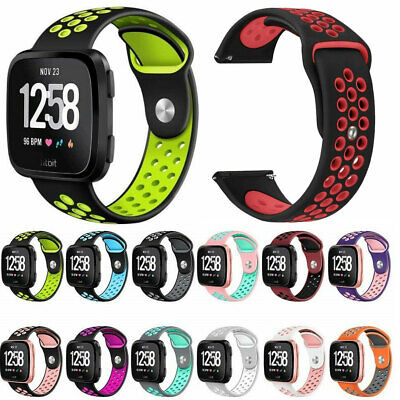 $ CDN7.38 • Buy For Fitbit Versa 2 / Lite Edition Strap Sport Silicone Replacement Watch Band