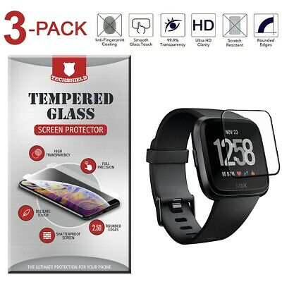 $ CDN4.63 • Buy For Fitbit Versa 2 / Lite Edition Tempered Glass Screen Protector [3-Pack]