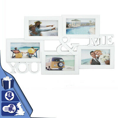 £9.29 • Buy Multi Photoframe Family Love Friends Frames College Picture Gift Frame Wall Hang