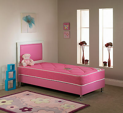 Brand New - 2ft6 , 3ft Single - Chelsea Pink Kids/children Bed - Free Delivery • 189.99£