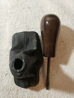 $33 • Buy 99-06 Bmw E46 330 325 Automatic Gear Lever Shift Knob Shifter Leather Boot 00 01