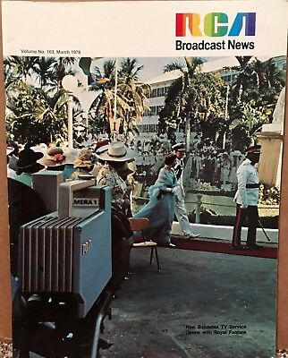 $19.99 • Buy March 1978 RCA Broadcast News Magazine Bahamas TV Service With Royal Fanfare VG+