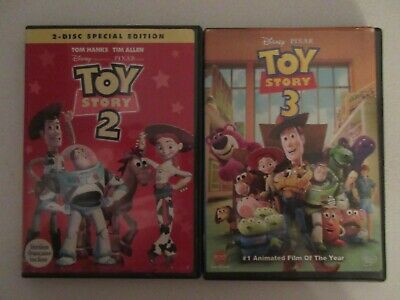 $ CDN34 • Buy 10  Mostly DISNEY DVDS LOT Toy Story 1.2.3 Tinker Bell ,Mighty Ducks ETC