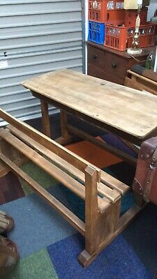 Old Double School Desk  • 145£