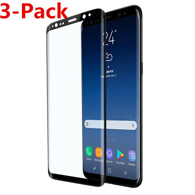 $ CDN6.47 • Buy 3-Pack Tempered Glass Screen Protector For Samsung Galaxy S10 S8 Plus Note 10 9