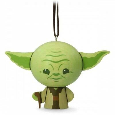 $7.99 • Buy NEW 2017 Yoda Star Wars CHRISTMAS HALLMARK KEEPSAKE ORNAMENT Baby Mandalorian