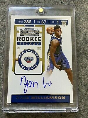$2999 • Buy 2019-20 Panini Contenders Rookie Ticket ZION WILLIAMSON Auto