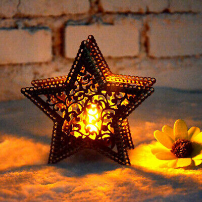 $3.08 • Buy Metal Moroccan Lantern Candlestick Candle Holder Tea Light Wedding Decor New
