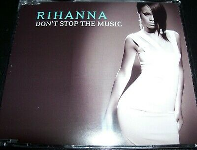 AU11.89 • Buy Rihanna Don't Stop The Music Rare Australian 4 Track Enhanced CD Single