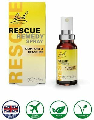 £6.73 • Buy Bach Rescue Remedy - Spray 7 Ml Stress Relief Exam Anxiety Fast And Free Postage