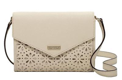 $ CDN151.58 • Buy NWT $168 KATE SPADE MONDAY Perforated Leather Envelope Purse Wallet Clocktower