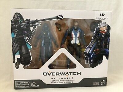 AU50 • Buy Overwatch Ultimates Shrike Ana & Soldier 76 Action Figure 2-Pack NEW