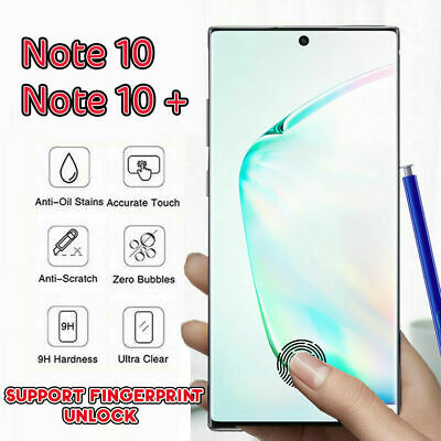$ CDN4.01 • Buy For Samsung Galaxy Note 10+ S10 S9 S8 UV Tempered Glass Screen Protector Screen
