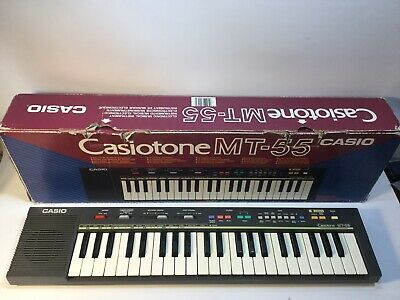 $91.49 • Buy Vintage Casio Casiotone MT-55 Electronic Musical Instrument Keyboard Synthesizer