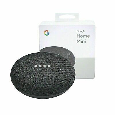 AU39 • Buy Google Home Mini Smart Assistant - Charcoal - Brand New Sealed