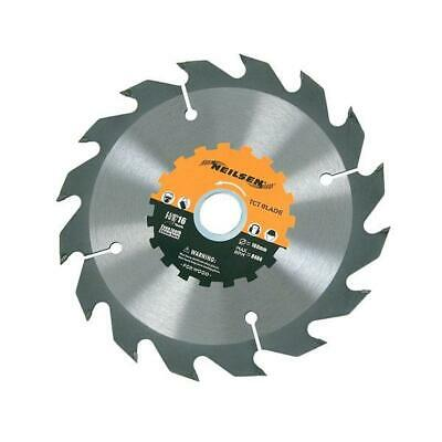 £5.95 • Buy Circular Saw Blade TCT 160mm X 16T Fast Thin Kerf For  Cordless Saws By Neilsen