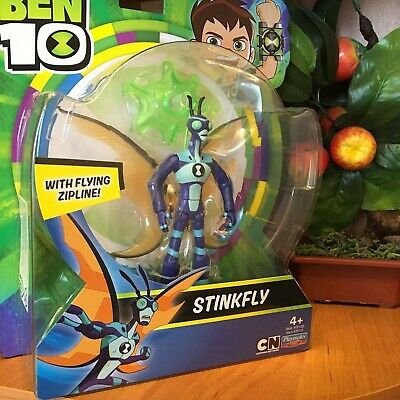 Ben 10 STINKFLY Action Figure With Flying Zipline Playmates Toys Brand New • 26.99£