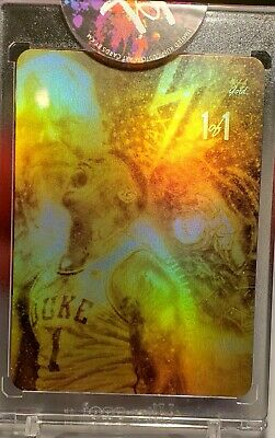 $2999.99 • Buy Zion Williamson Power Of Z Gold Refractor #1/1, Artist Autograph Rare Exclusive