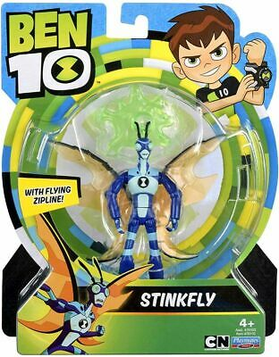 Ben 10 STINKFLY Action Figure With Flying Zipline Playmates Toys NUOVO • 24.90£