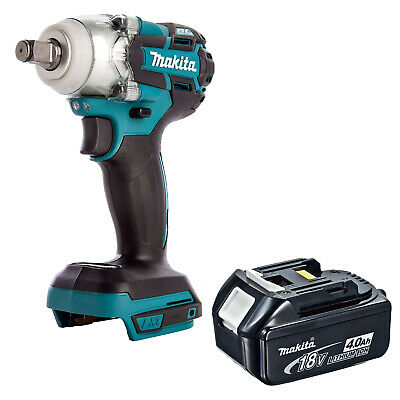 Makita 18v Lxt Dtw285 Dtw285z Dtw285rfe Impact Wrench And Bl1840 Battery • 195.02£