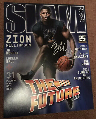$55 • Buy ZION WILLIAMSON SIGNED AUTOGRAPHED 11x14 AUTHENTIC PHOTO 1st OVERALL PICK