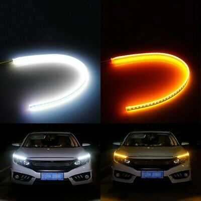 $ CDN11.29 • Buy 2pcs LED Strip Light Sequential Switchback Signal DRL Dynamic Indicator Lamps