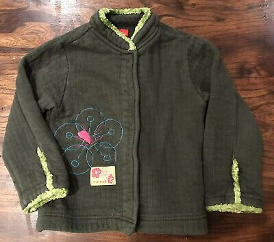 Marese Girls Designer Jacket 4 Years Green • 4.50£