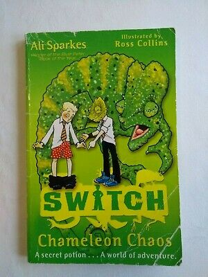 £2.50 • Buy Switch Book 8 Chameleon Chaos Paperback Book By Ali Sparkes