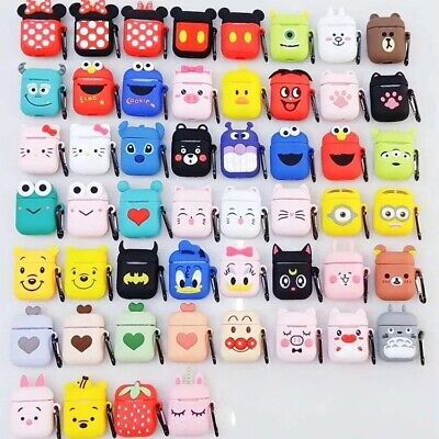 AU7.40 • Buy Apple Airpods Charging Case Cute Disney Minnie Mickey Earphone Airpod Cover