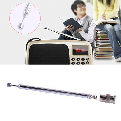 Telescopic Antenna Aerial Q9 BNC Connector Portable FM Radio Scanner VHF UHF Ut • 3.73£